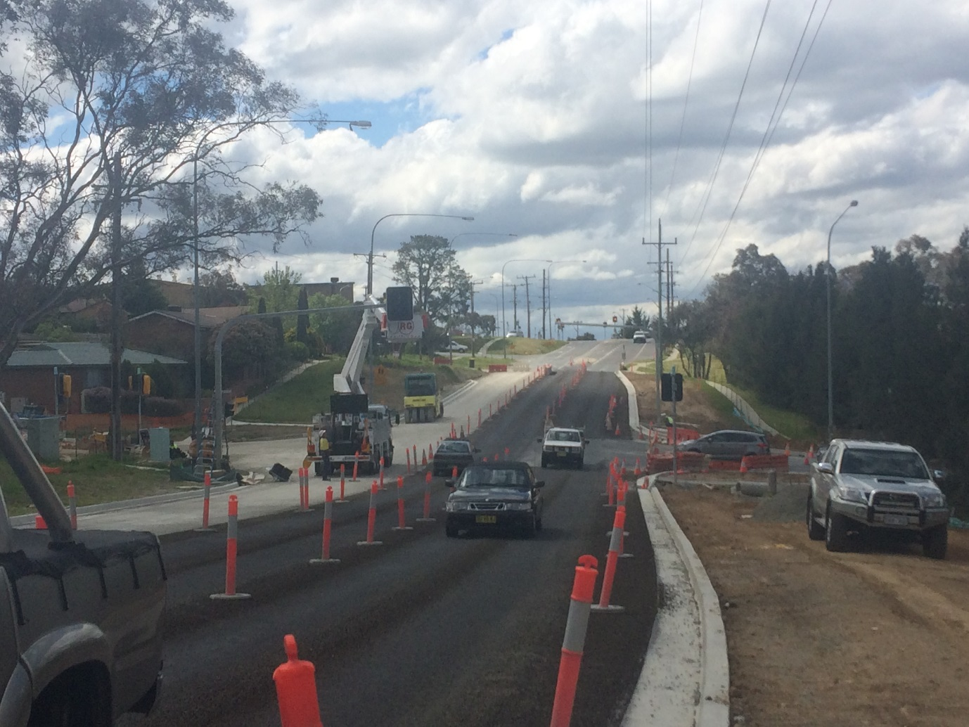 Cooma street and Barrack Flat Drive intersection upgrade