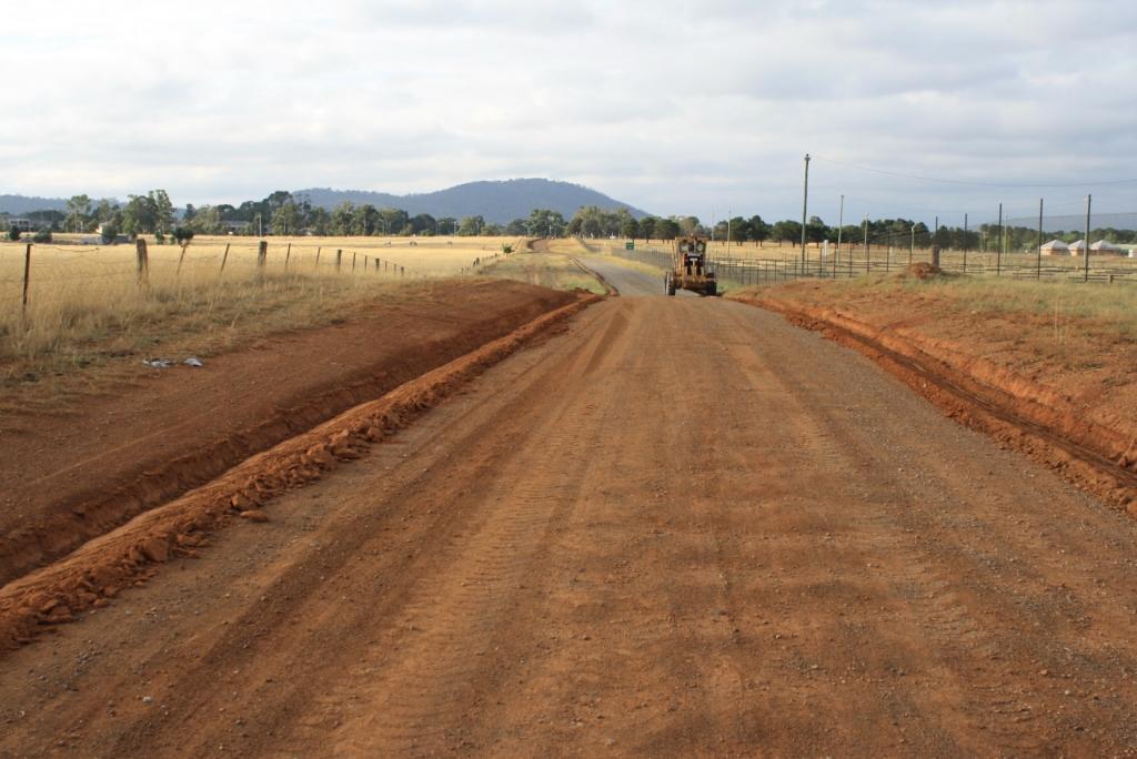 Gravel resheeting to ACT Gravel Roads